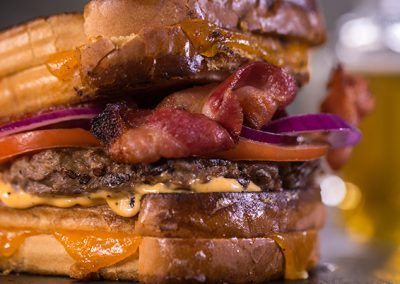 Big Daddy Bacon Grilled Cheese Burger
