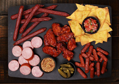The Big Game Charcuterie Board